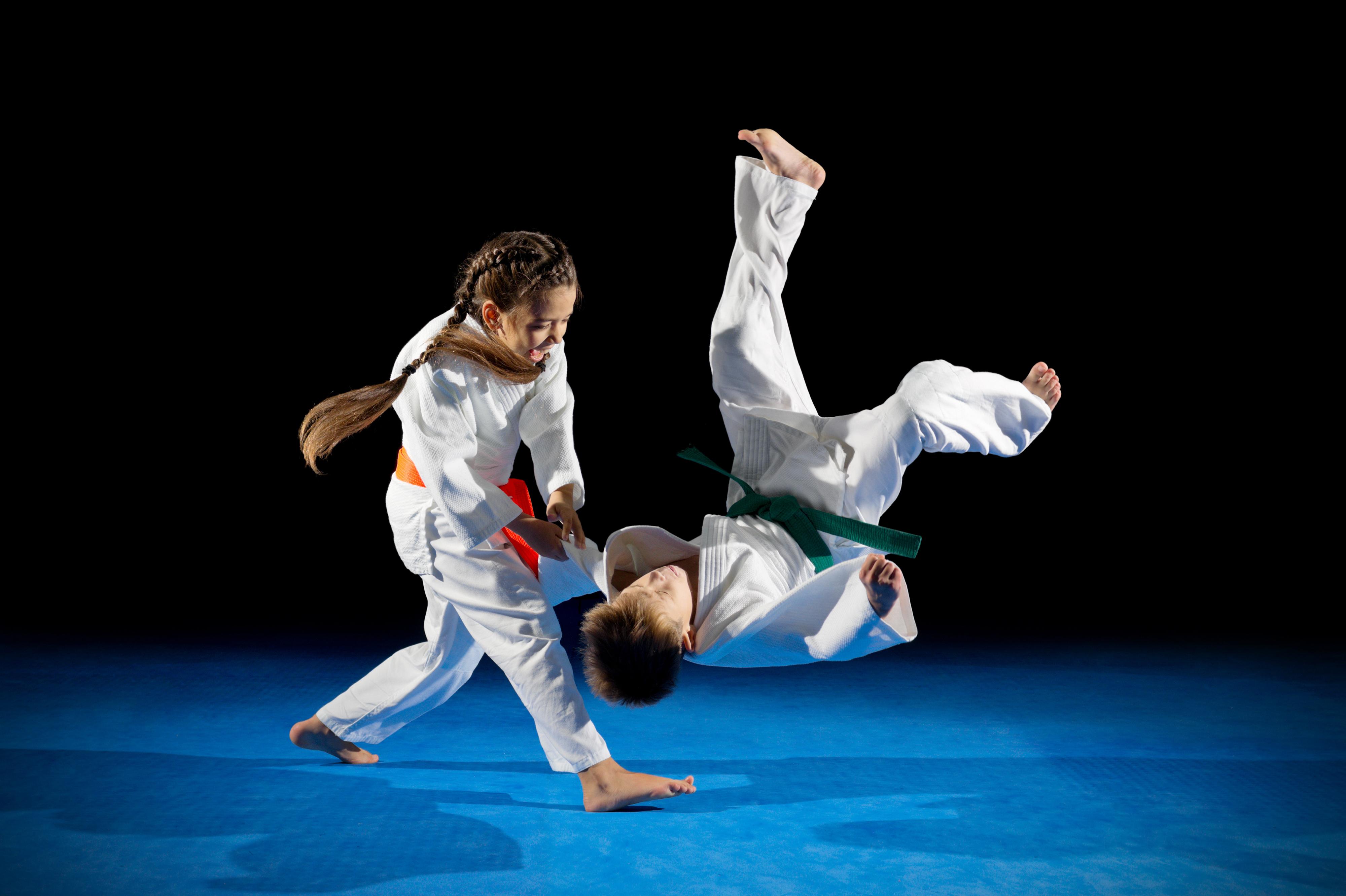 Kindertraining Kampfkunst Selbstverteidigung